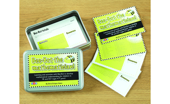 100 Maths Ideas Cards - English version for Bee-Bot