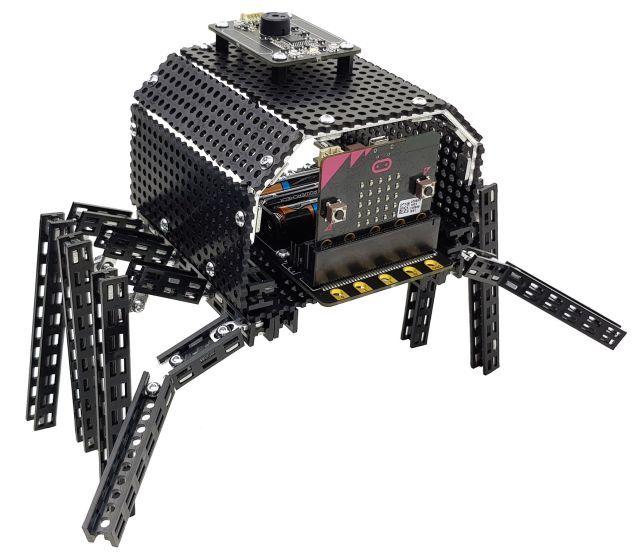 Totem Spider,  alien robots Binary found on Planet Totem