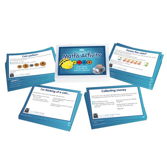 Bee-Bot Maths Activity Cards. Product Code: 708-IT10159