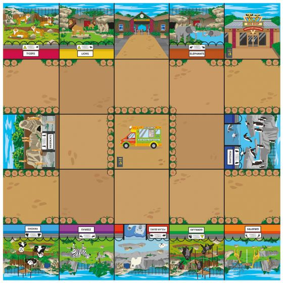 Bee-Bot Zoo Mat. Product Code: 708-IT10156