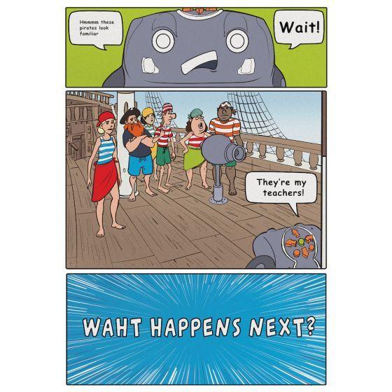 Rugged Robot Activities Book Hard Copy. 708-IT1025