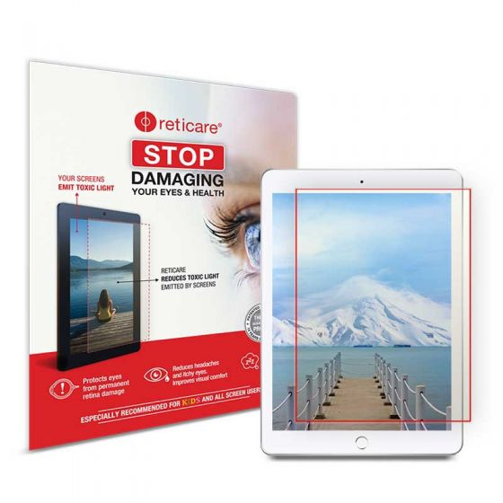 Protect your Eyes from harmful rays of TABLETS. Screens from Reticare