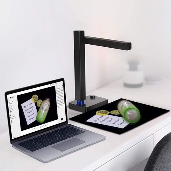 CZUR Shine 500 Pro Portable Document Camera and A4 Document Scanner