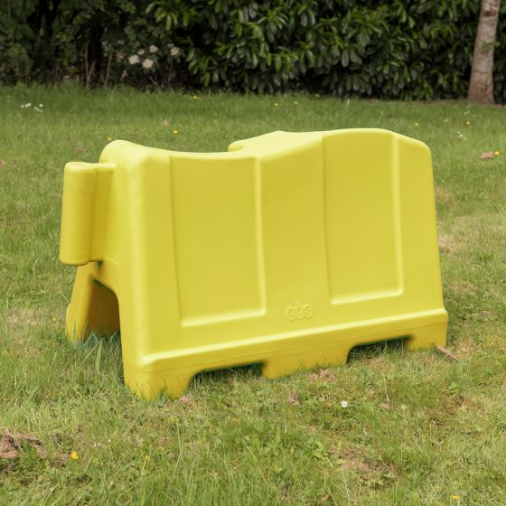 TTS Group UK School Playground Barriers Yellow 15 Pack PE02452