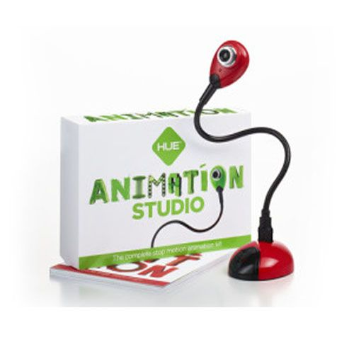 HUE Animation Studio in Red color