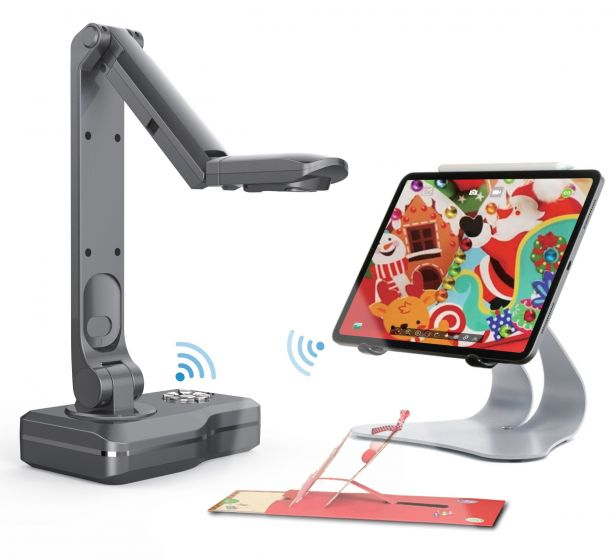 JoyUsing V500-W  Wireless Document Camera. WiFi.  HDMI & USB & VGA