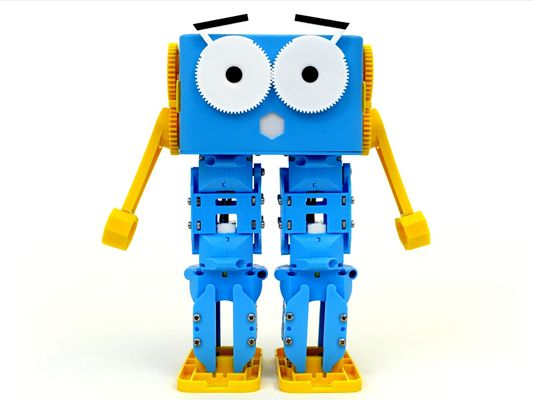 Marty the Fully Programmable WiFi Enabled Robot