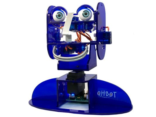 Blue Pre-Assembled Ohbot v.2.1 for MS Windows