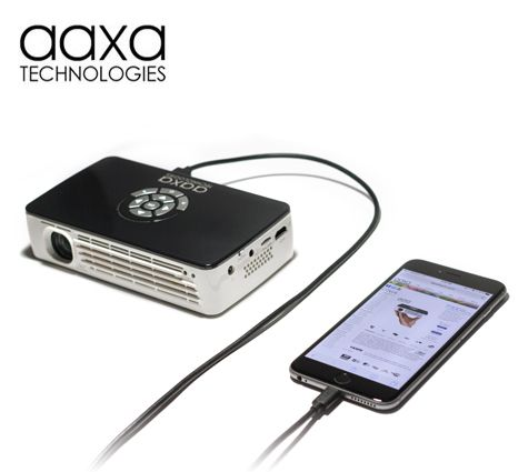 AAXA P700 Battery Powered Pico Projector