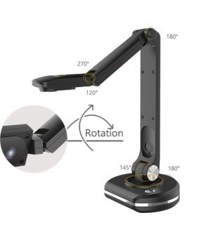 JOYUSING Visual Presenter V500-S - 8MP Document Camera with Auto-focus. Upgraded Version