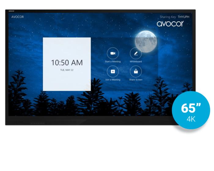 "65"" E series, IR,  Ultra HD 4K interactive touch screen.AVE-6250"
