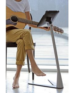 IPEVO Perch Sofa/Side Stand for iPad 2 & 3 - M Type, Black