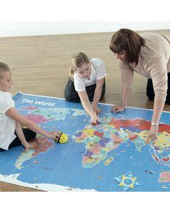 Bee-Bot World  Large Map 210 x 120cm (Indoor).Model GE00466