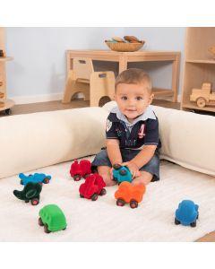 Rubbabu Baby Tactile Vehicles 8pcs. Product Code: EY07503