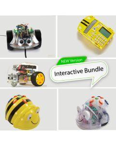 Robot Bundle. Bundle of Bee-Bot, Blue-Bot, Pro-Bot, Ino-Bot and Pi2Go Kit