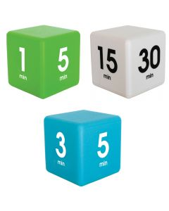 Bundle Datexx Time Cubes White, Green and Blue