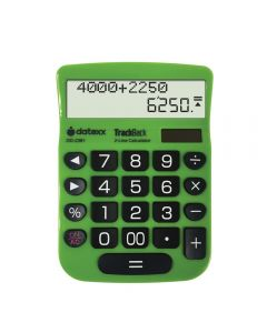 Datexx 2-Line TrackBack Desktop Calculator. DD-2361