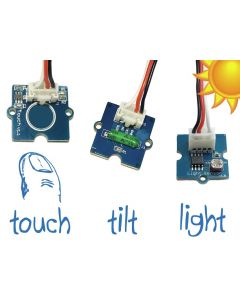 Ohbot 2 Sensor Pack - light, touch and movement