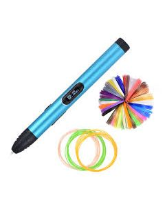 Blue colored Super slim 3d Pen, no need for AC/DC adapter. RP600A