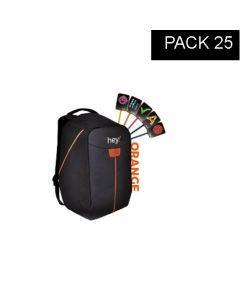 hey!U – 25 units Micro USB Pack - Orange
