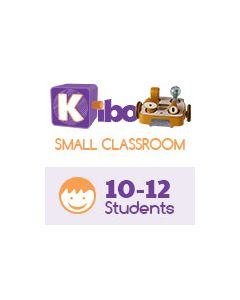 KIBO Small Classroom Pack, screen-free robot kit for 10-12 kids. 4-7 years old. 18 Blocks Kit (advance level)