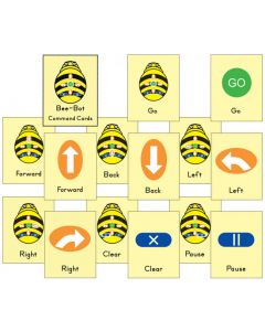 Command Cards for Bee-Bot and Blue-Bot