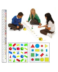 Math and Geometry Bee-bot and Blue Bot mat pack