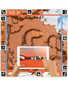 KAI'S CLAN Mars Discovery AR/VR Adventure Mat