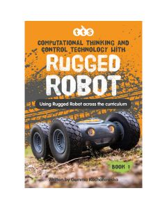 Rugged Robot Activities Book Hard Copy. 708-IT1025