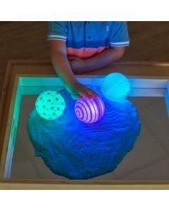 Sensory Tactile Glow Spheres. 708-EY10974