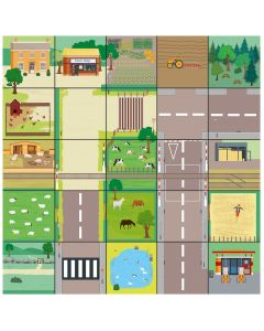Countryside Mat for Bee-Bot. 708-IT10144