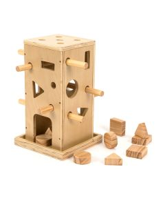 TTS Posting Activity Wooden Tower. 708-EY10453