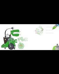 Q-Dino Metal Robot Kit. Programmable, Robobloq