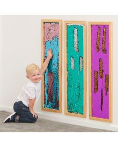 Mark making sequin long boards. Code: 708-EY11106