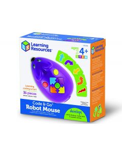 Learning Resources Programmable Code & Go Robot Mouse. Code: LER2841