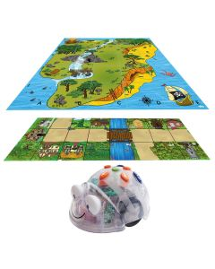 Fantasy Bundle Blue Bot with Treasure Island Mat & Fairy Tale Mat