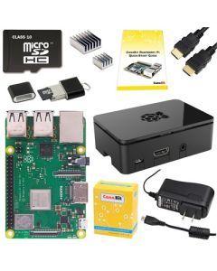 Raspberry Pi 3 Model B+ Starter Kit. 32 GB (PI3P-STR32-C4-BLK)
