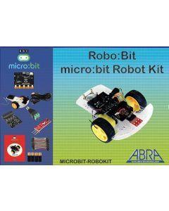 Micro:bit Smart Car Robot Educational Kit, includes Micro:bit board