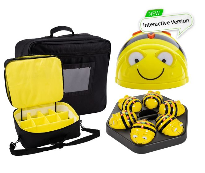 Bundle Hive Storage Bag, 6 Bee-Bots & Docking Station