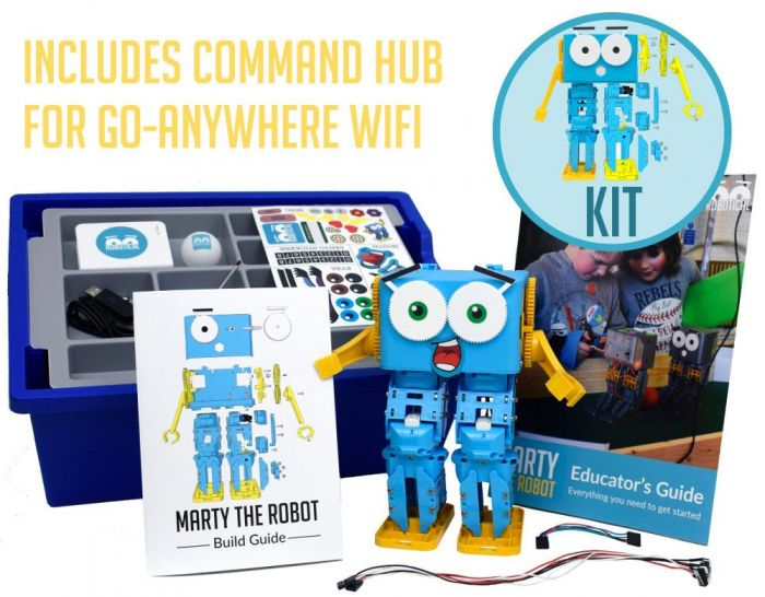 Marty, the Programmable Robot Edu Pack - Assembled